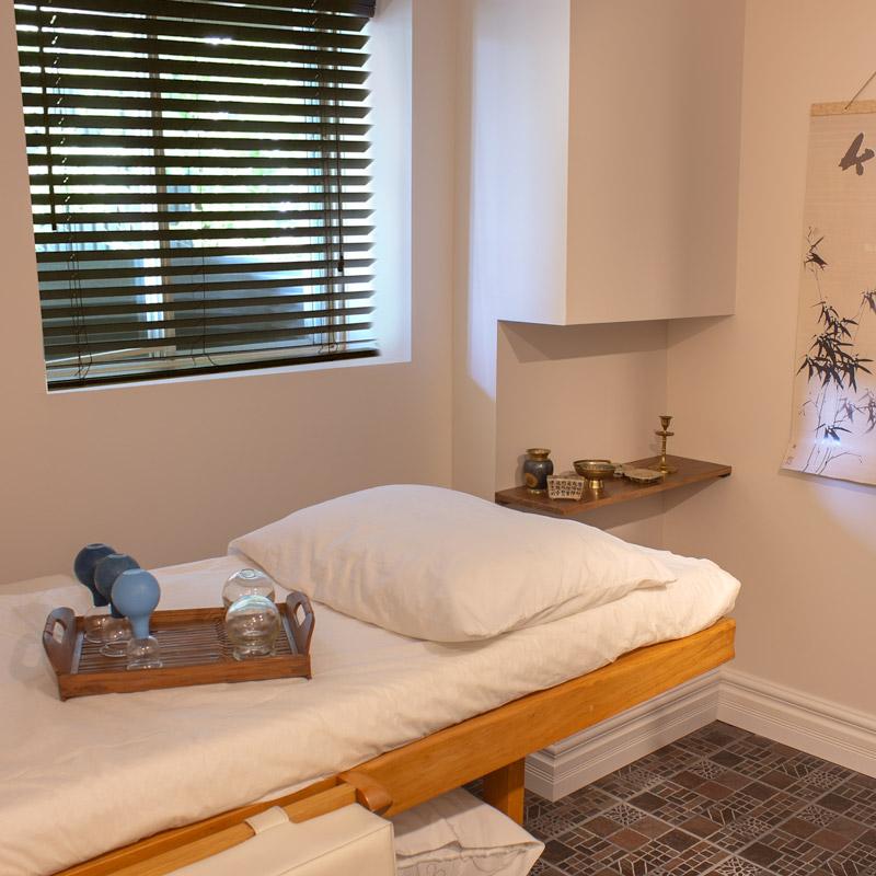 Salle de traitement d'acupuncture à Charlesbourg